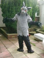Mightyena Fursuit by Korrok