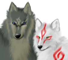 Ammy x Wolf Link by ss2sonic on DeviantArt