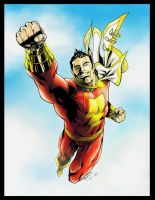 Captain Marvel by Ratkins - Colors by Andre-VAZ