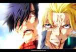 Fairy Tail 409 - Rogue and Sting by StingCunha