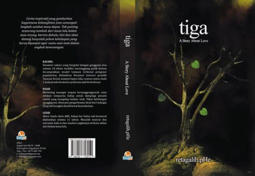 novel tiga by egathinking