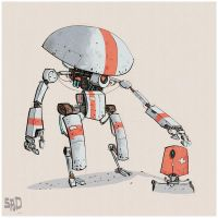 Robot-designs by SPUD0NKEY