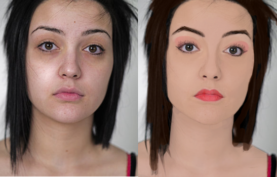 before-after. oops vectorized. by SaboREENA