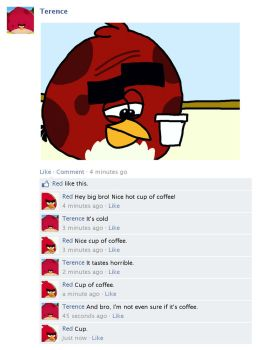 Meanwhile in Facebook 4 by AngryBirdsStuff