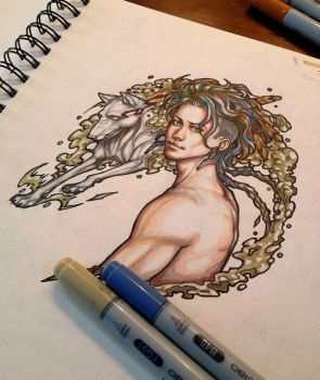 Smoke and Feathers traditional by DocWendigo