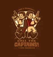 Call The Captains on Yetee by Winter-artwork