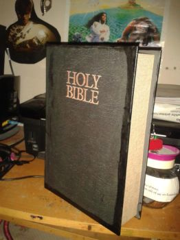 Vicar of Dibley Bible by LabyrinthLadyLover
