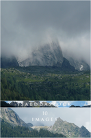 Mountains pack 2 by YsaeddaStock