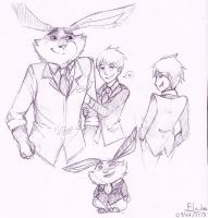Jack frost and Bunnymund 13 by saeru-bleuts