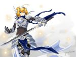 Saber ( In Theavencian Armor ) by Periphone