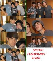 Smosh Facebombs by MsBaconator