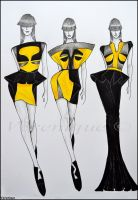 Small collection of dresses 1. by Verenique