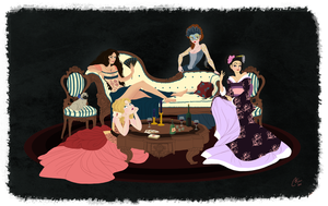 The Courtesans of St. Theodora by Julibee-Darling
