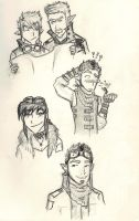 SkyPirate Doodles by Lost-in-Legends