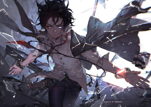 The Rise of Kinesis by kawacy