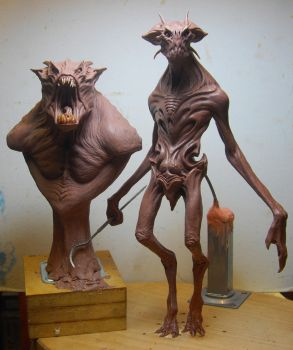 New alien maquette by BOULARIS