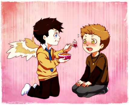 Destiel: Pie by YukiHyo
