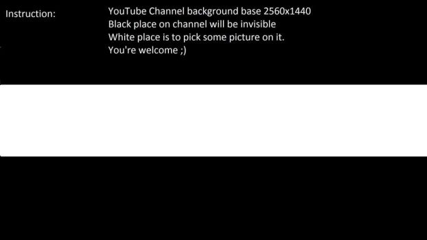 YouTube channel background base by korna000