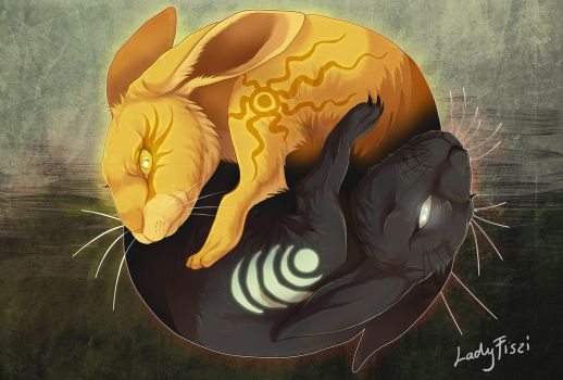 Watership down - Frith and Inle by LadyFiszi