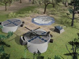 Allied Helicopter Base by Aircraftkiller