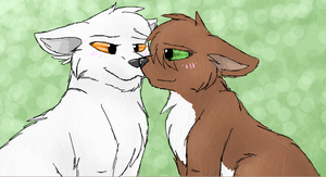 Bone and Alari by CascadingSerenity