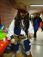 Jack Sparrow (Pirates of the Caribbean)Cos-Mo 2014 by Groucho91