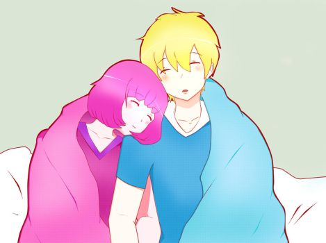 Young PB and Finn [Love that cannot be] by JaydeeDV