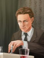 Charles Xavier by sangriacolor