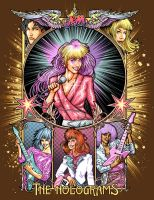 Jem and the Holograms Nouveau by ninjaink
