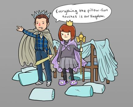 Game of Pillows by raevynewings