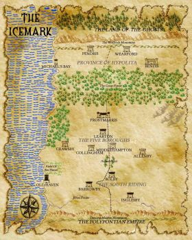 Map Of The Icemark by Lindenshield