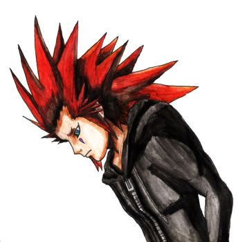 Sad Axel by AxelFlame8