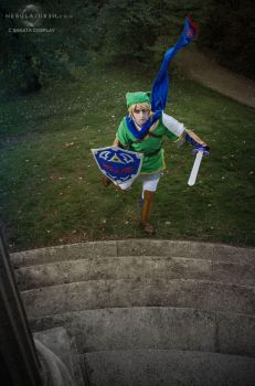 Link cosplay by Nebulaluben