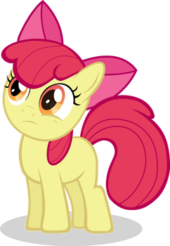 Applebloom is intrigued by Dash1e