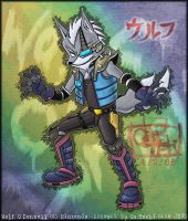 Wolf in Brawl_colored by OsHoshi