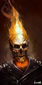 Ghost Rider by JamesBousema