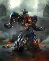 Transformers 4 optimus prime by trialsgirl10