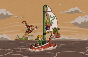 Wind Waker: Embarking on an Epic Adventure 2 by Icy-Snowflakes