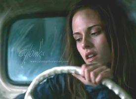 Behind the wheel by cylonka