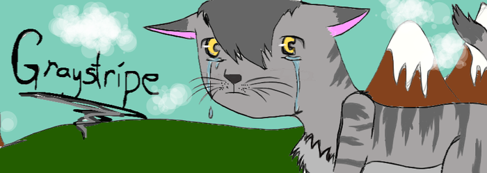 Graystripe, Rip: Silverstream by FallenAngelofShadows