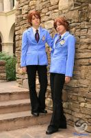 :Twins at Ikkicon 2008: by Kawaii-Shuichi