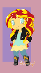 COM: Chibi Sunset by Yanie-The-Brown-Pone