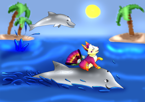 [DTA 1-1] Dolphin Rider by Sound-of-Heaven