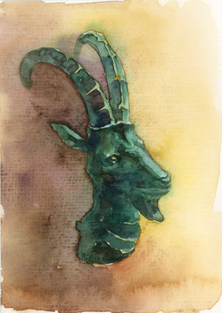 -A Goat- by RiEile