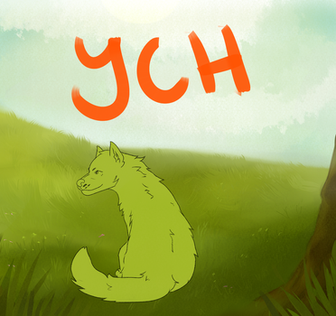 $15 CANINE YCH by Trash--Cat