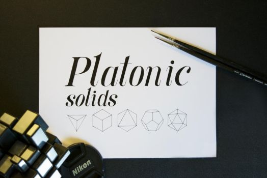 Platonic Solids by Achromicon