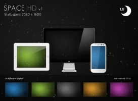Space HD HighCommand - Wallpaper Pack by R3D-X7