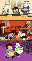 Undertale - The True Glutton Ending by Mothman64