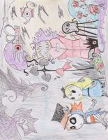 All of Underland Against you by Art--Pixie