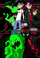 Danny Phantom and Randy Cunningham - Heroes United by Mgx0